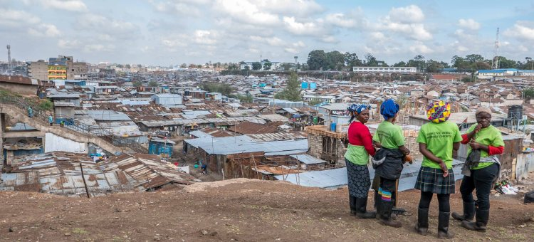 View of Mathare